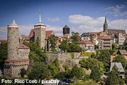 Die malerische Altstadt von Bautzen