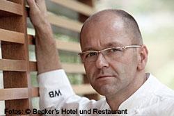 Wolfgang Becker - mit zwei Michelin-Sternen ausgezeichneter Koch und ausgebildeter Winzer