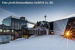 ice Q am Gipfel des Gaislachkogls