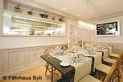 Chef's Table im Fährhaus Sylt