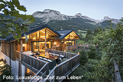 Luxuslodge im Salzburger Land