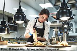 Maike Menzel - Chefköchin des Schwarzreiter-Restaurants in München