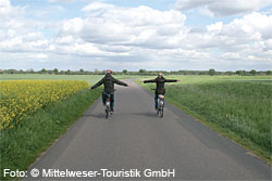 Radwanderparadies Mittelweser