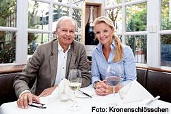 Rheingau Gourmet und Wein Festival - Hans Burkhardt Ullrich und Tochter Johanna