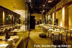 Ein altes Bahnbetriebswerk wird zur Stories Pop-Up Kitchen