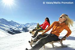Das Wallis gilt als der Wintersport-Magnet der Schweiz