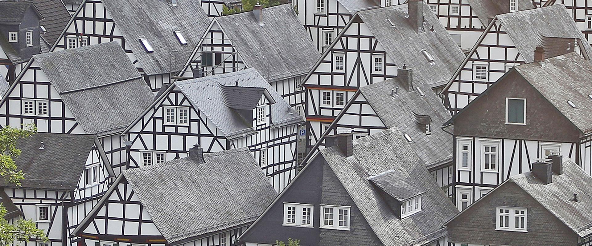 Fachwerkhäuser in Freudenberg