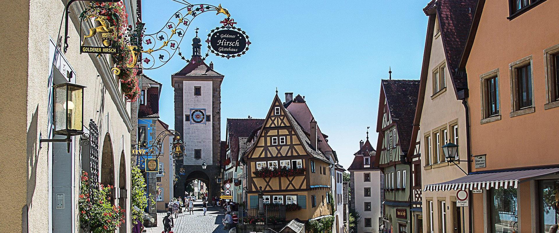 Frankenhöhe - Rothenburg ob der Tauber