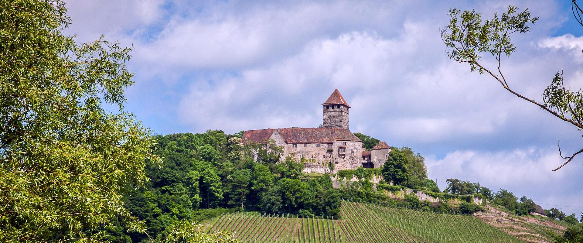 Frankenwald - Burgruine Lichtenberg