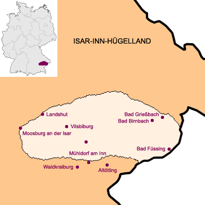 Isar-Inn-Hügelland