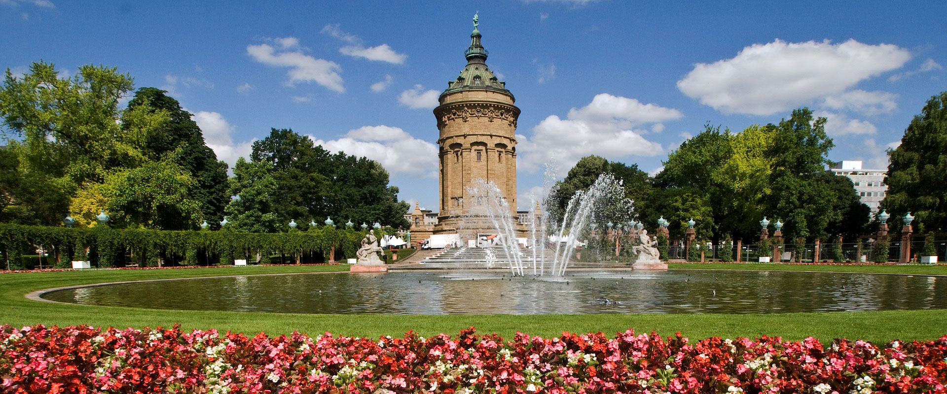 Mannheim - Wasserturm