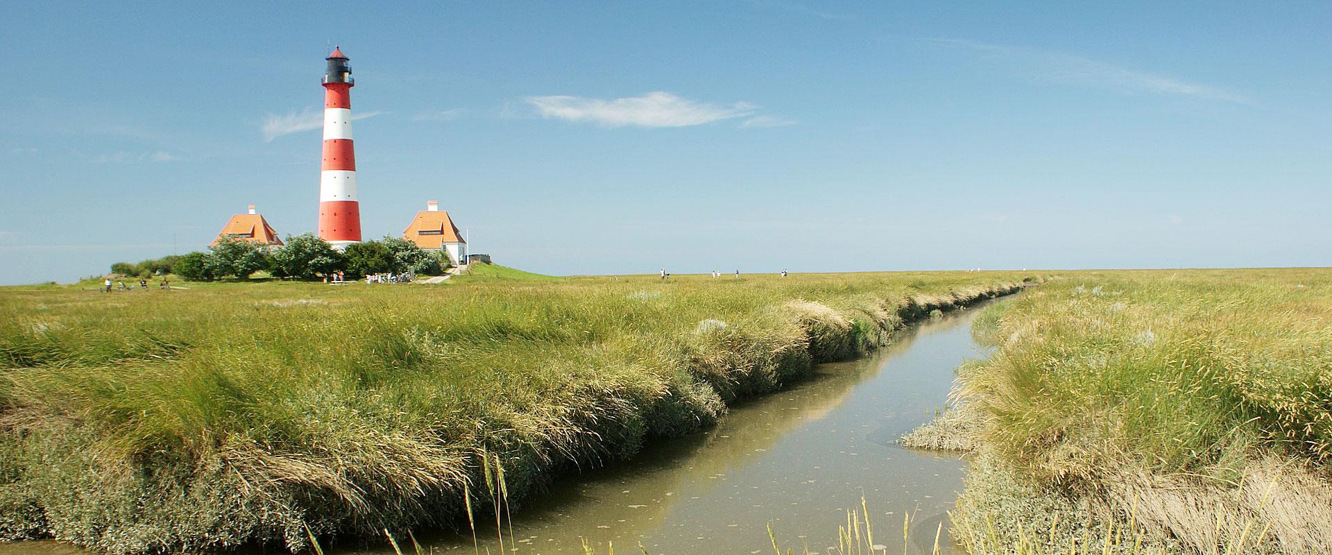 Nordfriesland - Leuchtturm Westerhever