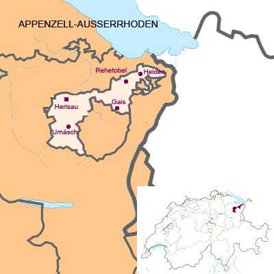Kanton Appenzell-Ausserrhoden (AR)