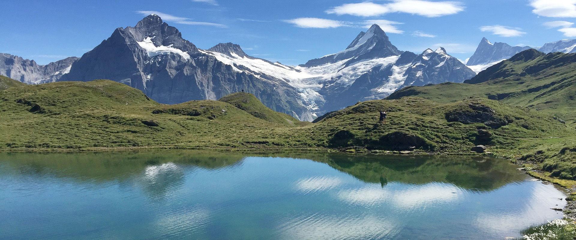 Bachalpsee bei Grindelwald im Berner Oberland