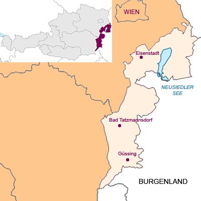 Bundesland Burgenland Österreich