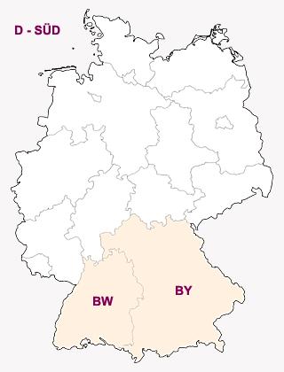Deutschland-Süd