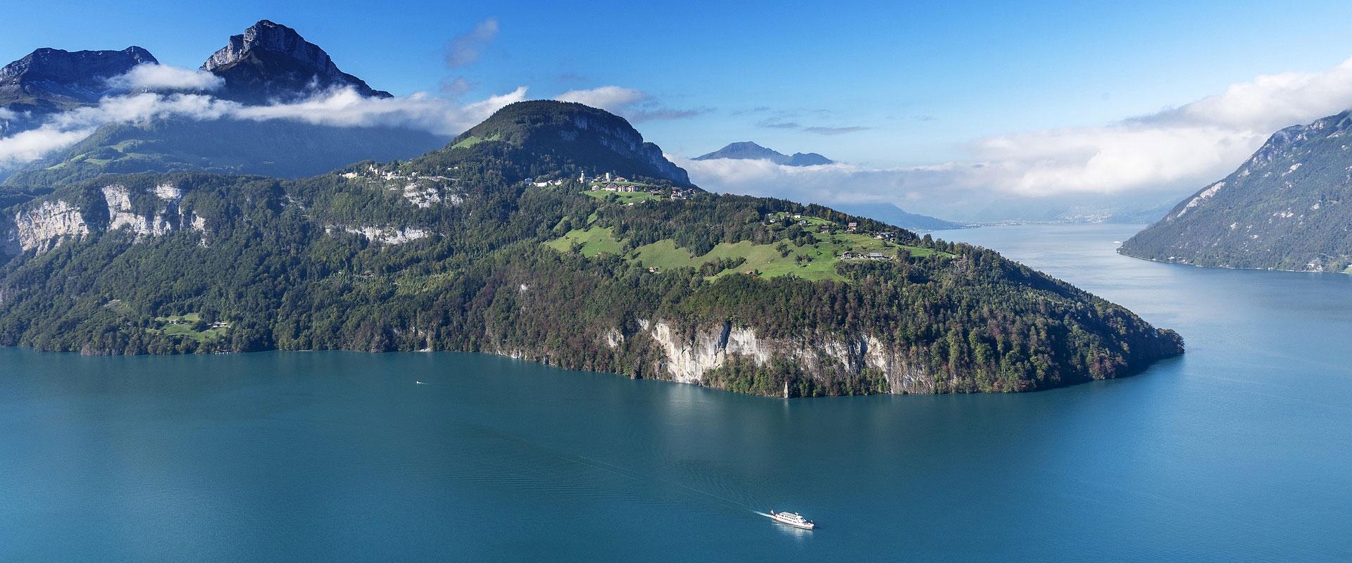 Vierwaldstättersee im Kanton Luzern