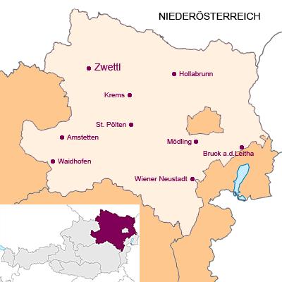 Bundesland Niederösterreich