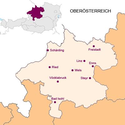 Bundesland Oberösterreich