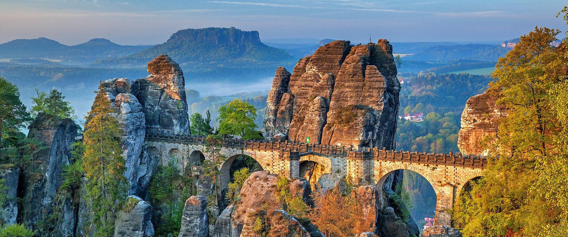 Sächsische Schweiz - Basteibrücke
