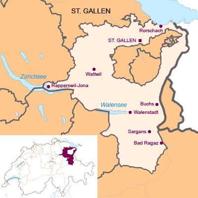 Kanton St. Gallen (SG)