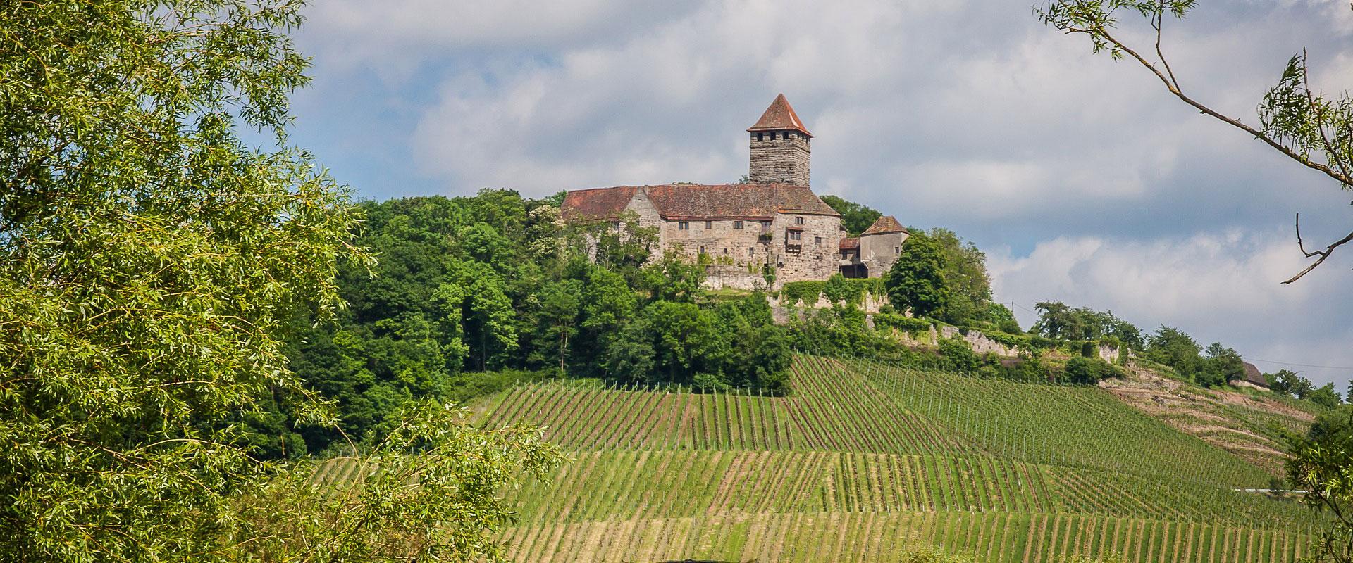 Schwäbisch-Fränkischer Wald - Burg Lichtenberg