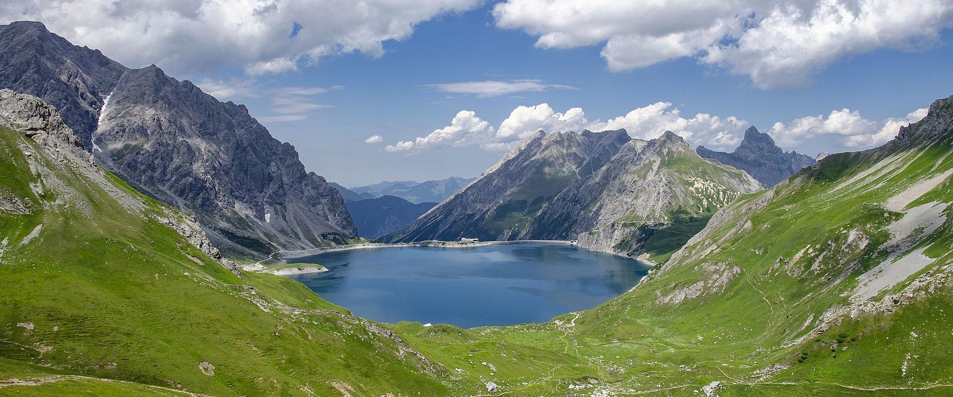 Vorarlberg - Lünersee im Montafon