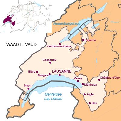 Kanton Waadt - Vaud (VD)