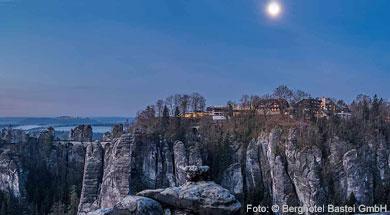 Faszination Bastei mit atemberaubenden Ausblicken